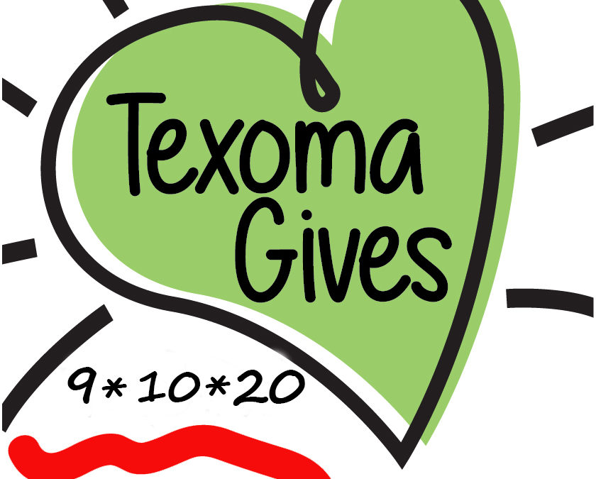 Save The Date—Texoma Gives September 10, 2020