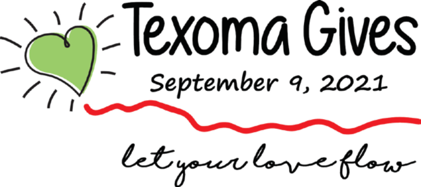 Texoma Gives September 9, 2021 Let your love flow